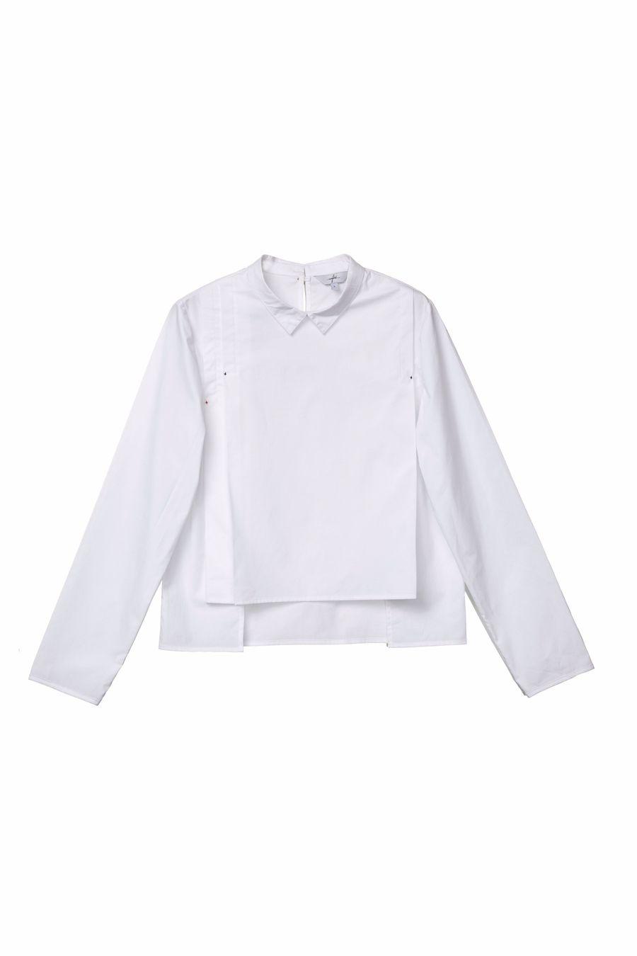 Back-Buttoned Shirt